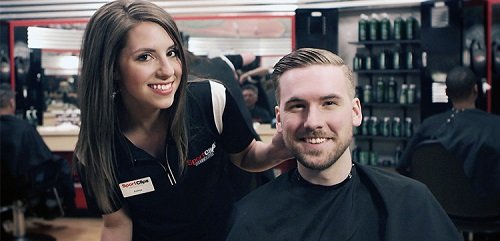 Sport Clips Haircuts of Tomball​ stylist hair cut